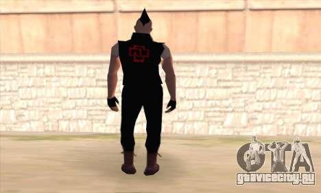 Тилль Линдеманн для GTA San Andreas второй скриншот