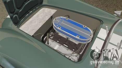 Shelby Cobra 427 SC 1965 для GTA 4 вид сбоку