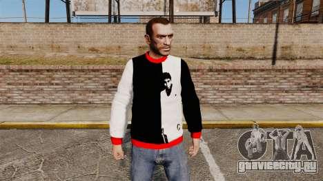 Свитер -Scarface- для GTA 4