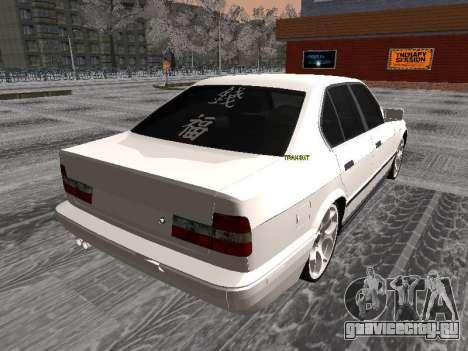 BMW 535i для GTA San Andreas вид слева