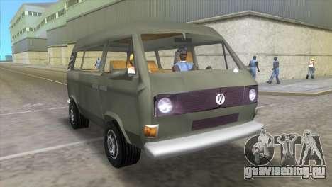 Volkswagen Transporter T3 для GTA Vice City