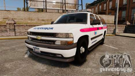 Chevrolet Suburban 2003 AMR [ELS] для GTA 4