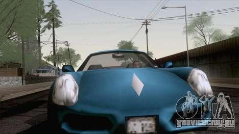 Stinger из GTA 3 для GTA San Andreas вид сзади слева