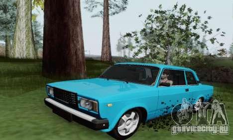 ВАЗ 2107 Купе для GTA San Andreas вид слева
