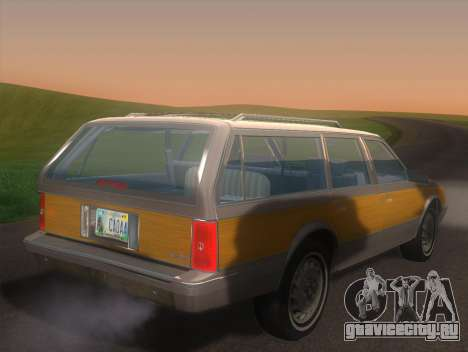 Oldsmobile Cutlass Ciera Cruiser для GTA San Andreas вид слева