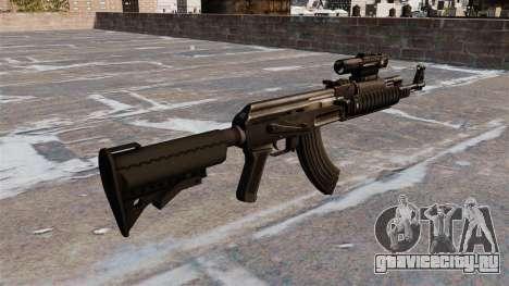 Автомат AK-47 Tactical Gear для GTA 4 второй скриншот
