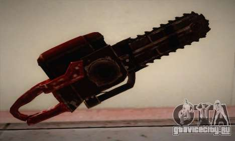 Новая Бензопила для GTA San Andreas второй скриншот