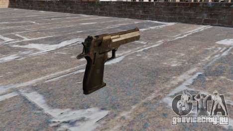 Пистолет Desert Eagle MW3 для GTA 4 второй скриншот