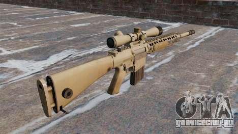 Снайперская винтовка M110 SASS для GTA 4 второй скриншот