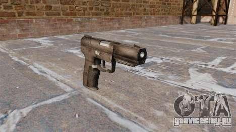 Самозарядный пистолет FN Five-seveN для GTA 4