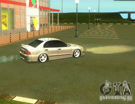 Mitsubishi Galant для GTA San Andreas вид слева