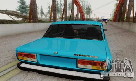 ВАЗ 2107 Купе для GTA San Andreas вид справа