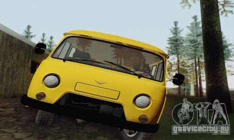 УАЗ 2206 Буханка для GTA San Andreas вид справа