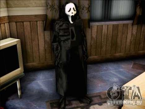 Маньяк из фильма Крик для GTA San Andreas второй скриншот