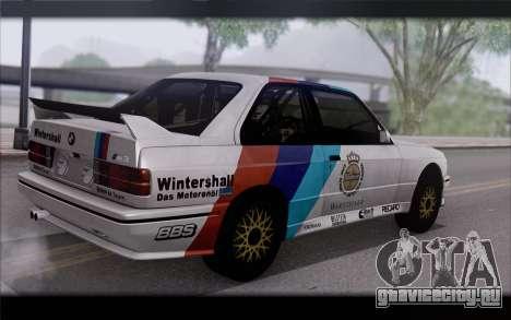BMW M3 E30 Racing Version для GTA San Andreas вид слева