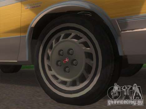 Oldsmobile Cutlass Ciera Cruiser для GTA San Andreas вид сзади слева