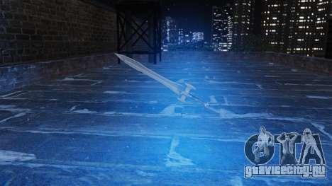 Священный меч для GTA 4 третий скриншот