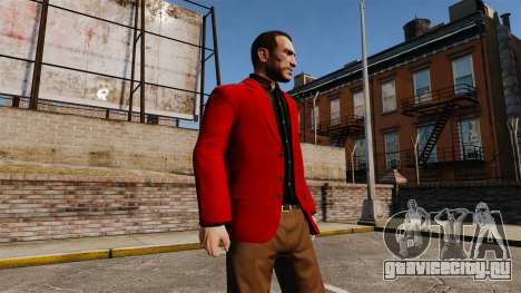 Красный пиджак для GTA 4 третий скриншот