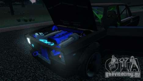 ВАЗ 2105 для GTA 4 вид сбоку