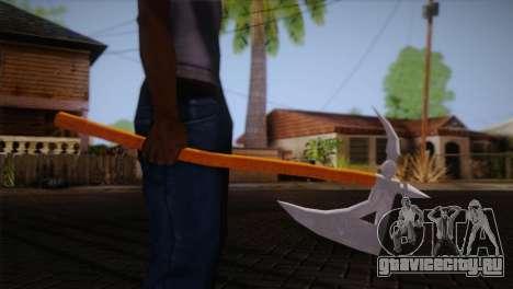 Секира из Assassins Creed Brotherhood для GTA San Andreas третий скриншот