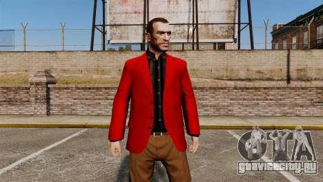 Красный пиджак для GTA 4