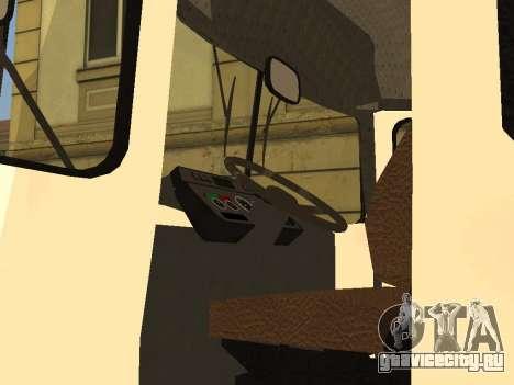 КАвЗ 3976 для GTA San Andreas вид сзади