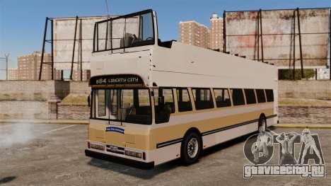 Туристический автобус для GTA 4