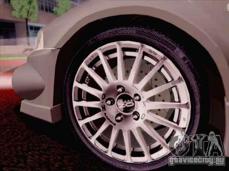 Mitsubishi Lancer Evolution VI LE для GTA San Andreas салон