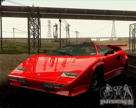 Lamborghini Countach LP500 Quattrovalvole 1988 для GTA San Andreas вид сбоку
