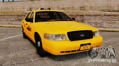Ford Crown Victoria 1999 NYC Taxi для GTA 4