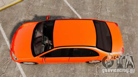 Honda Civic VTEC для GTA 4 вид справа