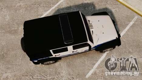Jeep Wrangler Rubicon Police 2013 [ELS] для GTA 4 вид справа