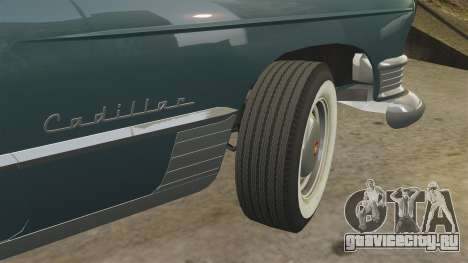 Cadillac Series 62 1949 для GTA 4 вид снизу