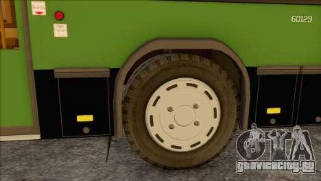 Гармошка для МАЗ 105.060 для GTA San Andreas вид слева