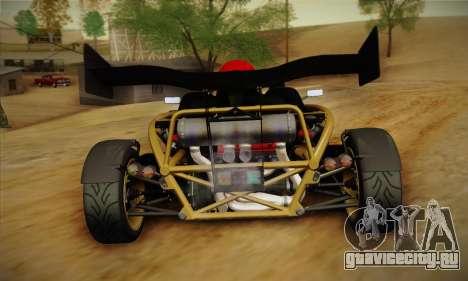 Ariel Atom 500 2012 V8 для GTA San Andreas вид справа