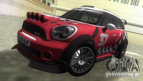 Mini Countryman WRC для GTA Vice City