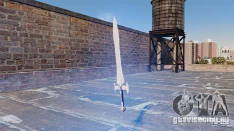 Священный меч для GTA 4 второй скриншот