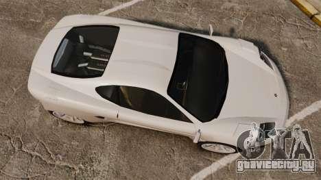 Turismo Sport для GTA 4 вид справа