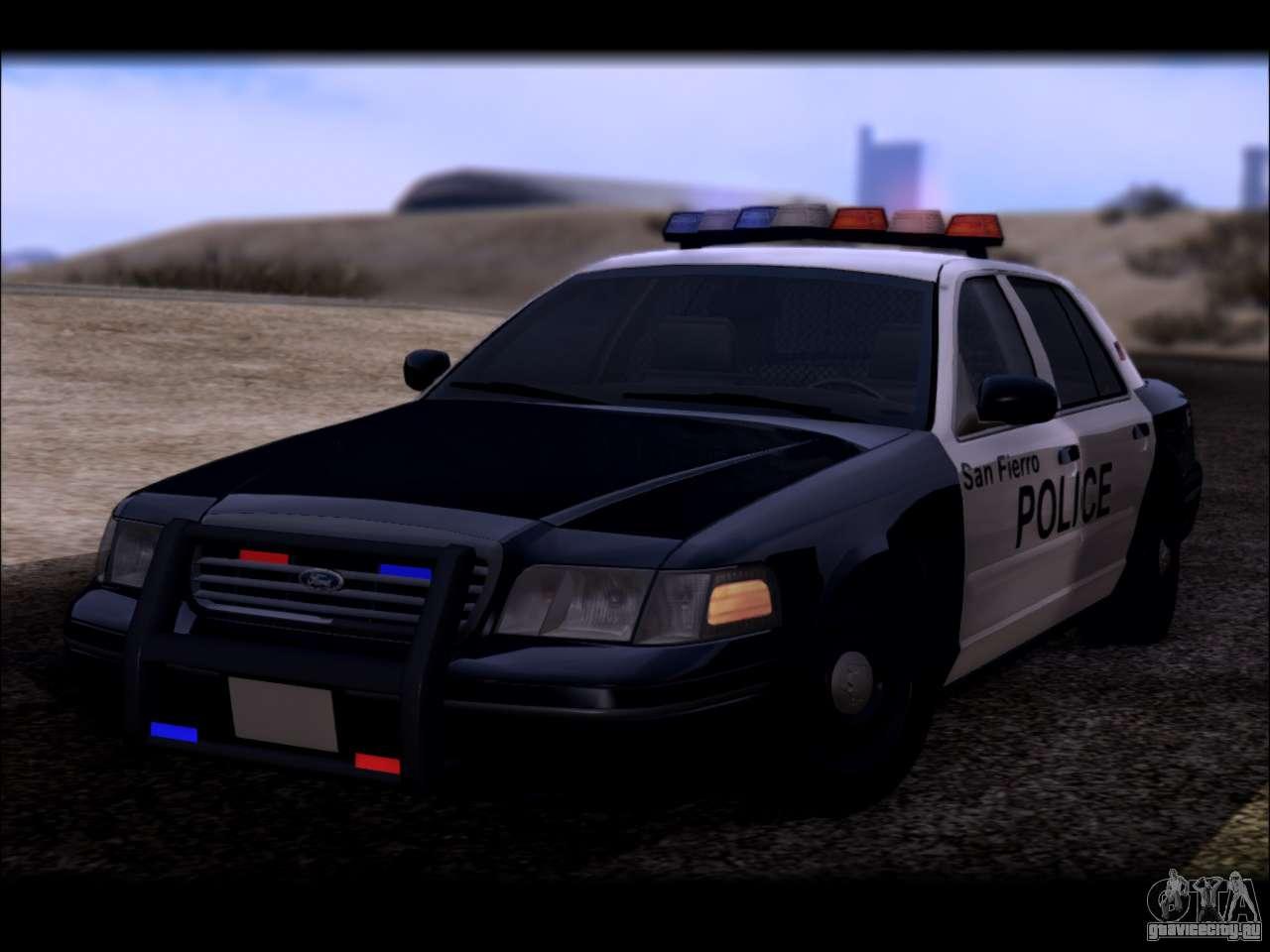 Ford Crown Victoria  Police  D B D Bb D F Gta San Andreas