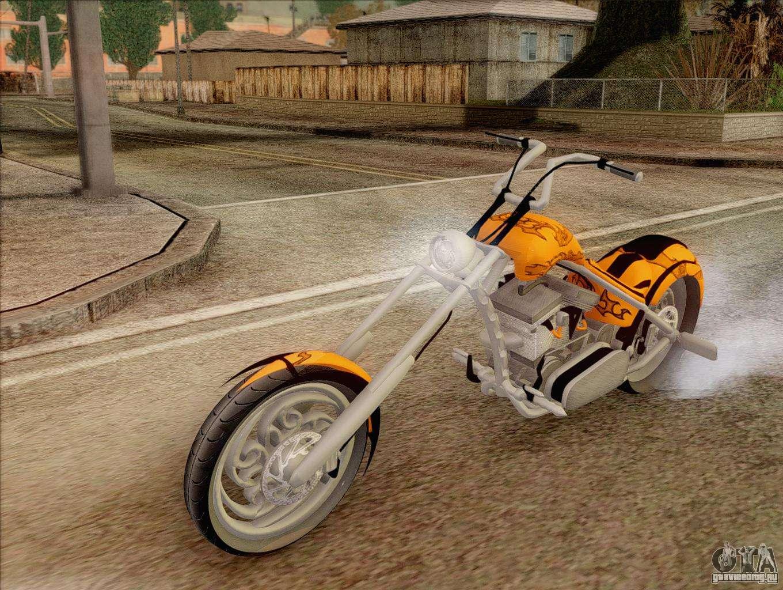 Читы на Мотоциклы в ГТА Сан Андреас