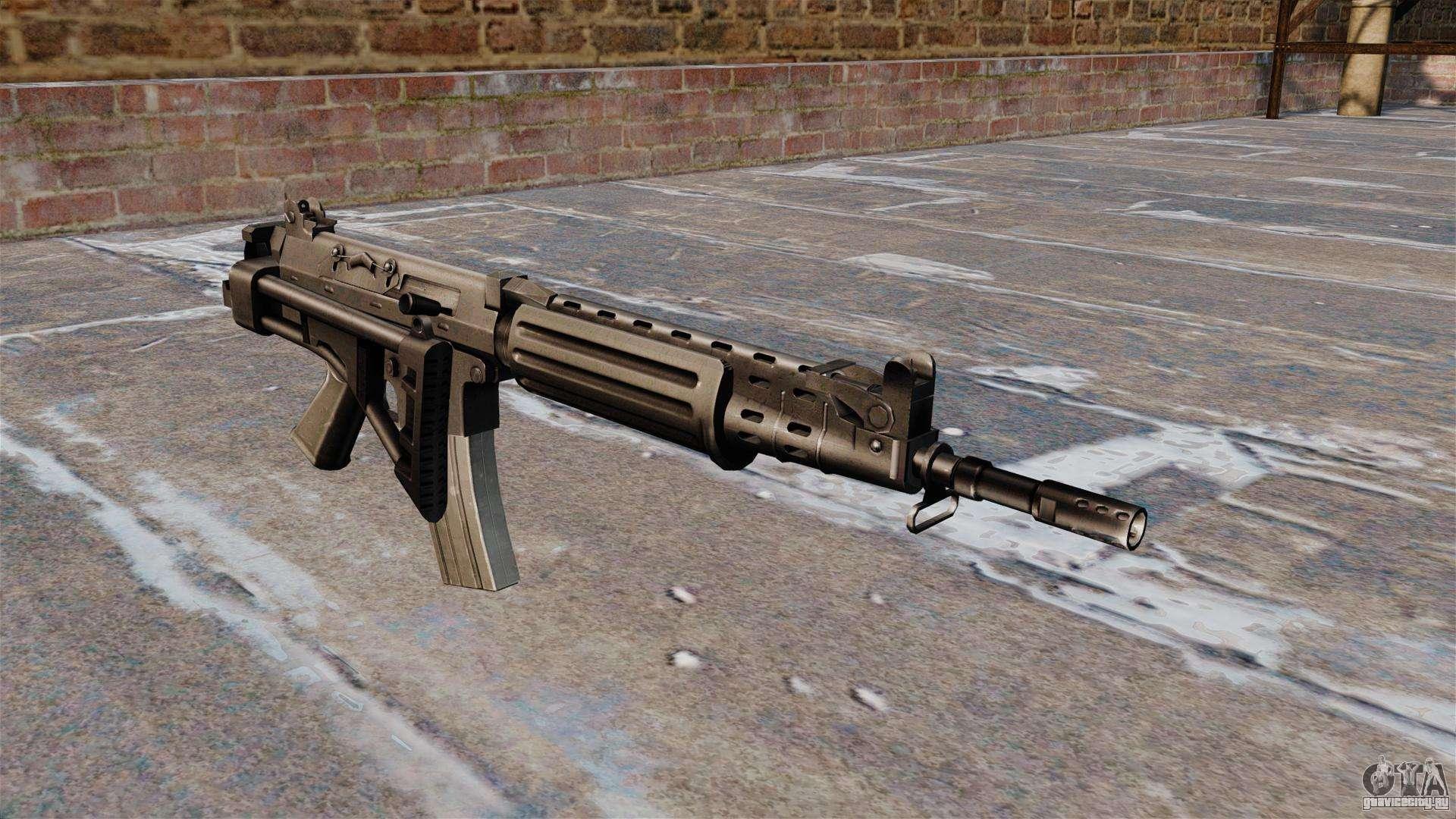 Современное стрелковое оружие мира - FN FNC
