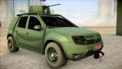 Dacia Duster Army Skin 1 для GTA San Andreas