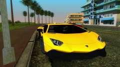 Lamborghini Aventador LP720-4 50th Anniversario для GTA Vice City