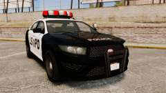 GTA V Vapid Police Interceptor LSPD для GTA 4