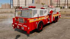Seagrave Aerialscope Tower Ladder 2006 FDLC