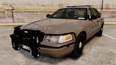 Ford Crown Victoria 2008 Sheriff Traffic [ELS] для GTA 4