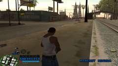C-HUD CutHot для GTA San Andreas