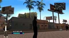 C-HUD Aztecaz для GTA San Andreas