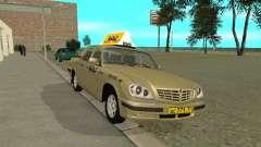 ГАЗ 31105 Волга Такси для GTA San Andreas