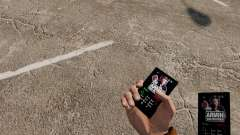 Тема для телефона Armin Van Buuren для GTA 4